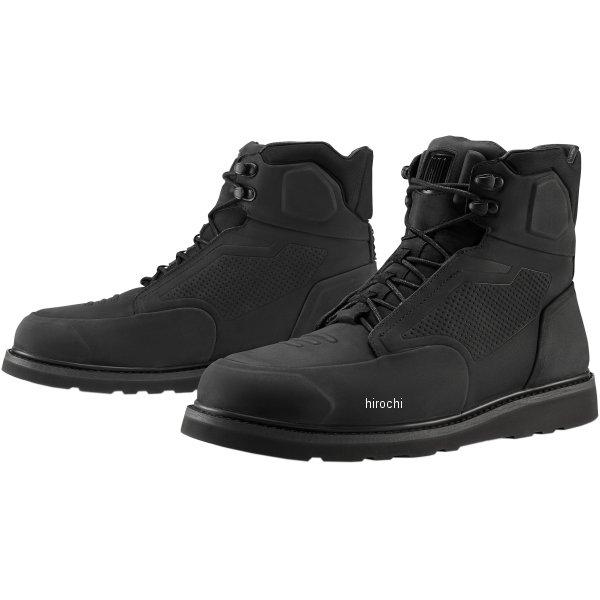 アイコン ICON 2020年春夏モデル ブーツ BRIGAND 黒 12サイズ 3403-1038 HD店