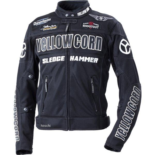 イエローコーン YeLLOW CORN 2020年春夏モデル メッシュジャケット 黒/黒 Lサイズ BB-0104 HD店