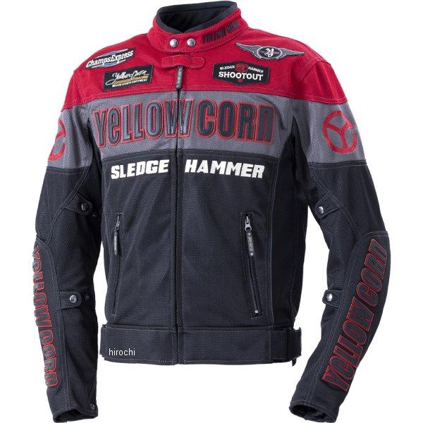 イエローコーン YeLLOW CORN 2020年春夏モデル メッシュジャケット 赤/黒 LLサイズ BB-0104 HD店