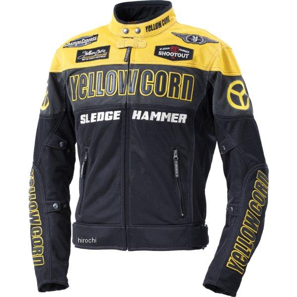 イエローコーン YeLLOW CORN 2020年春夏モデル メッシュジャケット 黄/黒 Mサイズ BB-0104 HD店