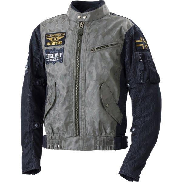 イエローコーン YeLLOW CORN 2020年春夏モデル コンビメッシュジャケット 黒カモフラージュ Lサイズ YB-0103 HD店