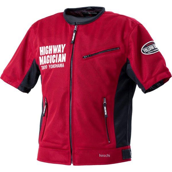 イエローコーン YeLLOW CORN 2020年春夏モデル プロテクティブメッシュTシャツ 赤 Mサイズ YMT-001 HD店