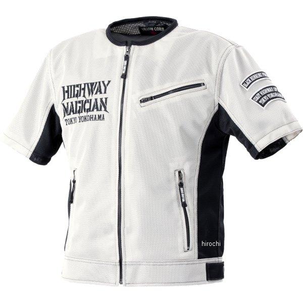イエローコーン YeLLOW CORN 2020年春夏モデル プロテクティブメッシュTシャツ アイボリー/黒 3Lサイズ YMT-002 HD店