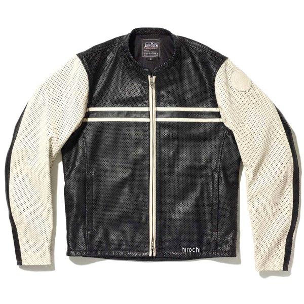 カドヤ KADOYA 2020年春夏モデル レザージャケット PL SUNTAILOR 黒/アイボリー Lサイズ 1304 HD店