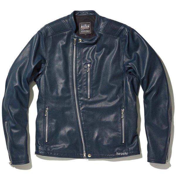 カドヤ KADOYA 2020年春夏モデル レザージャケット ATLAS ネイビー 3Lサイズ 1186 HD店