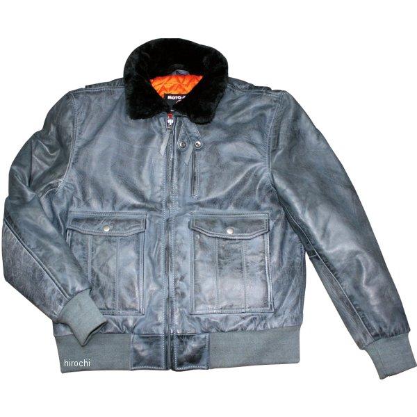 モトフィールド MOTO FIELD 2020年春夏モデル A2 ボンバージャケット グレー Lサイズ MF-LJ142 HD店