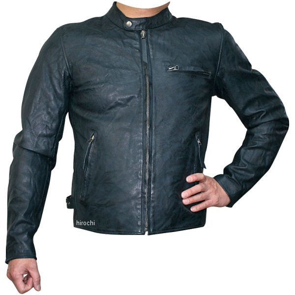 モトフィールド MOTO FIELD 2020年春夏モデル シングルビンテージライダースジャケット ネイビー Mサイズ MF-LJ147 HD店