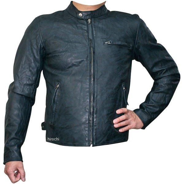 モトフィールド MOTO FIELD 2020年春夏モデル シングルビンテージライダースジャケット ネイビー 5Lサイズ MF-LJ147K HD店