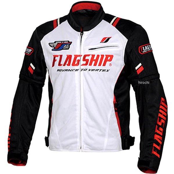 フラッグシップ FLAGSHIP 2020年春夏モデル アーバンライドメッシュジャケット 白/黒 3Lサイズ FJ-S194 HD店