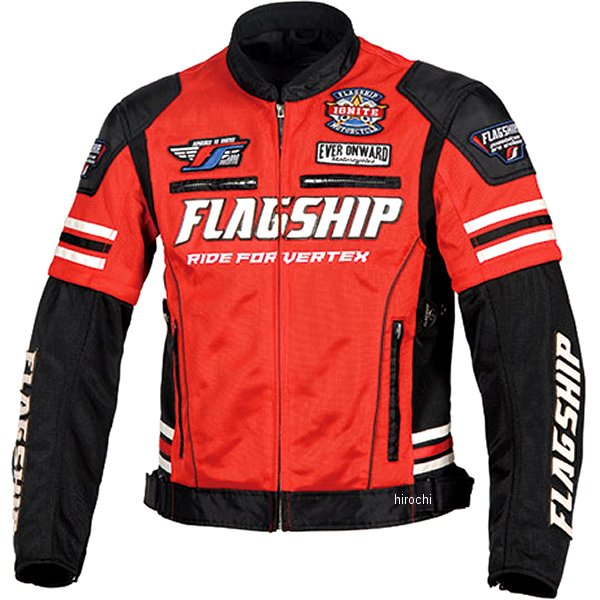 フラッグシップ FLAGSHIP 2020年春夏モデル タクティカルメッシュジャケット 赤 Lサイズ FJ-S203 HD店