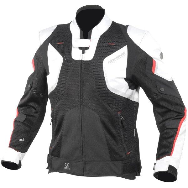 【メーカー在庫あり】 JK-143 コミネ KOMINE 2020年春夏モデル Rスペックメッシュジャケット ライトグレー/黒 XLサイズ 07-143 HD店