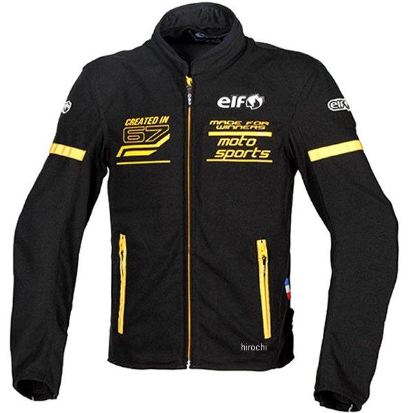 【メーカー在庫あり】 エルフ elf 2020年春夏モデル フレッドメッシュジャケット 黄 Lサイズ EJ-S102 HD店