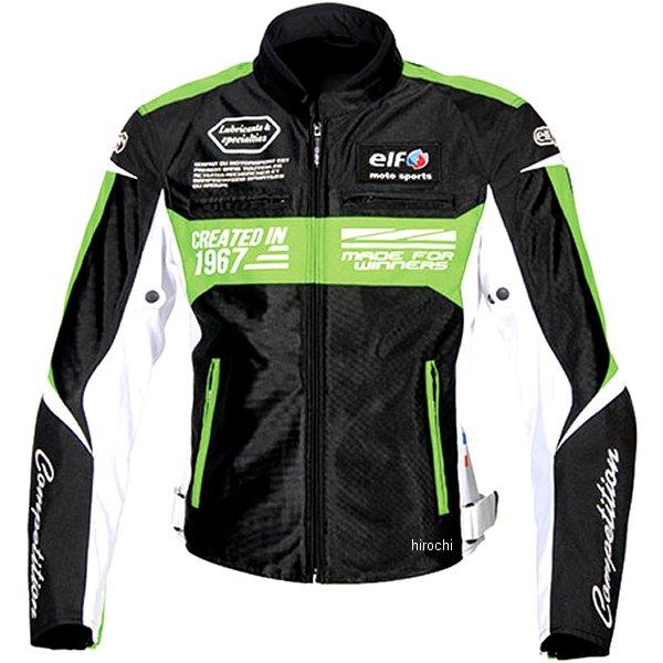 エルフ elf 2020年春夏モデル イデアールメッシュジャケット 黒/緑 3Lサイズ EJ-S103 HD店