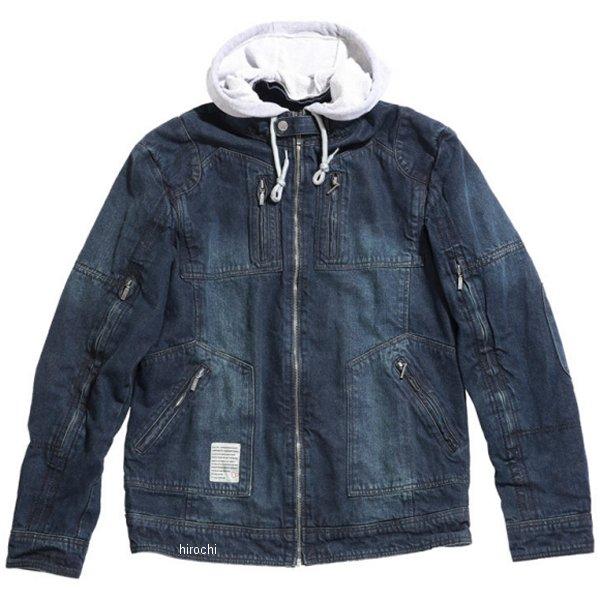 オーシャンパシフィック OP 2020年春夏モデル シングル ライダースジャケット デニムSINGLE M/C 黒 Sサイズ OPVA2001SBKS HD店