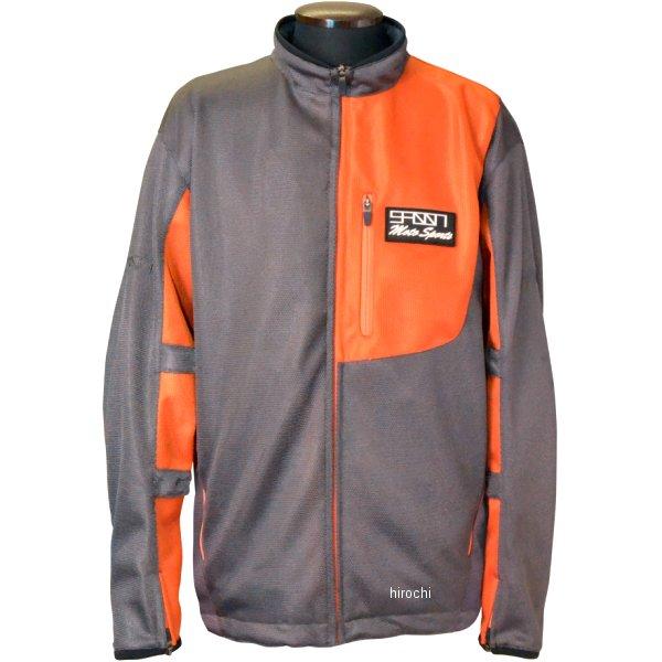 スプーン SPOON 2020年春夏モデル メッシュジャケット グレー/オレンジ 3Lサイズ SPB-617 HD店