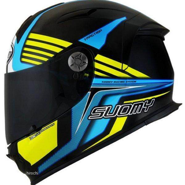 【メーカー在庫あり】 SSR0039 スオーミー SUOMY フルフェイスヘルメット SR-SPORT ATTRACTION 青/黄 XLサイズ(61cm-62cm) SSR003904 HD店