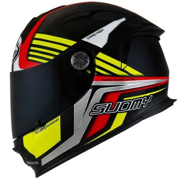 SSR0040 スオーミー SUOMY フルフェイスヘルメット SR-SPORT ATTRACTION 赤/黄 Mサイズ(57cm-58cm) SSR004002 HD店