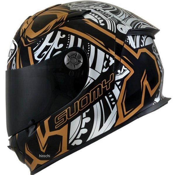 【メーカー在庫あり】 SSR0042 スオーミー SUOMY フルフェイスヘルメット SR-SPORT CROSSBONE ゴールド Lサイズ(59cm-60cm) SSR004203 HD店