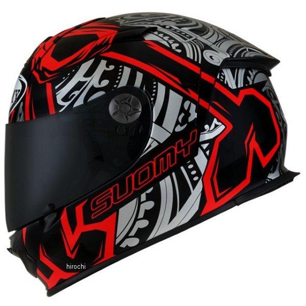 【メーカー在庫あり】 SSR0043 スオーミー SUOMY フルフェイスヘルメット SR-SPORT CROSSBONE 赤 Lサイズ(59cm-60cm) SSR004303 HD店