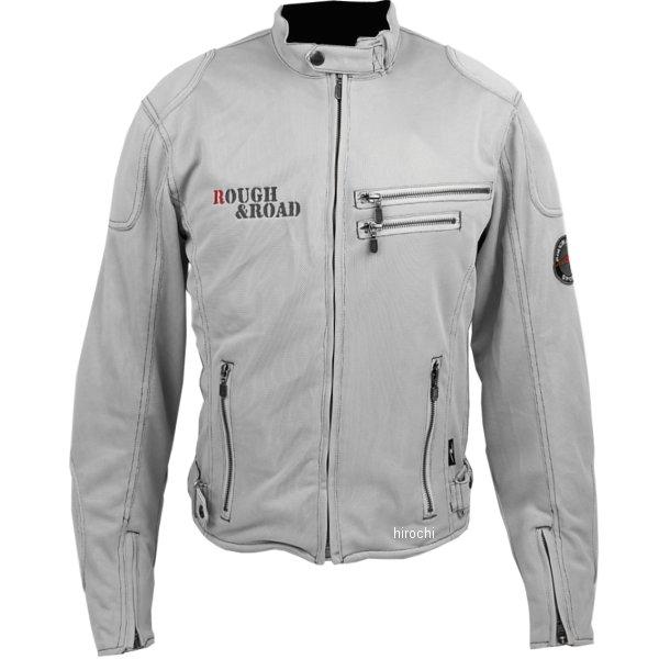ラフ&ロード ライディングZIPメッシュジャケット シルバー XLサイズ RR7308SV5 HD店