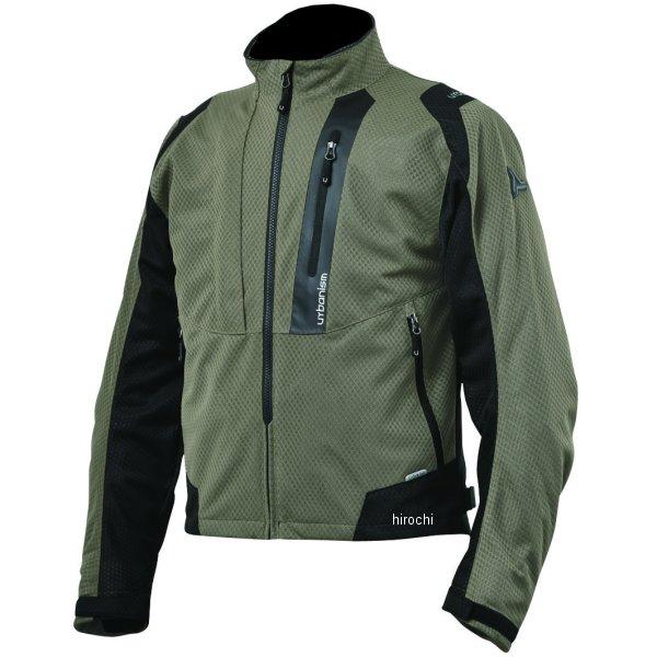 アーバニズム urbanism 2020年春夏モデル ライドメッシュジャケット ソイルグレー Lサイズ UNJ-078 HD店