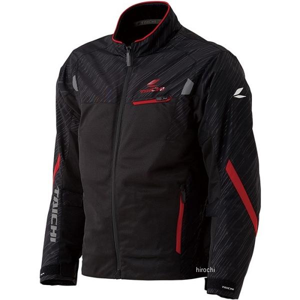 【メーカー在庫あり】 RSJ331 RSタイチ 2020年春夏モデル トルク メッシュジャケット 黒/赤 XLサイズ RSJ331BK02XL HD店