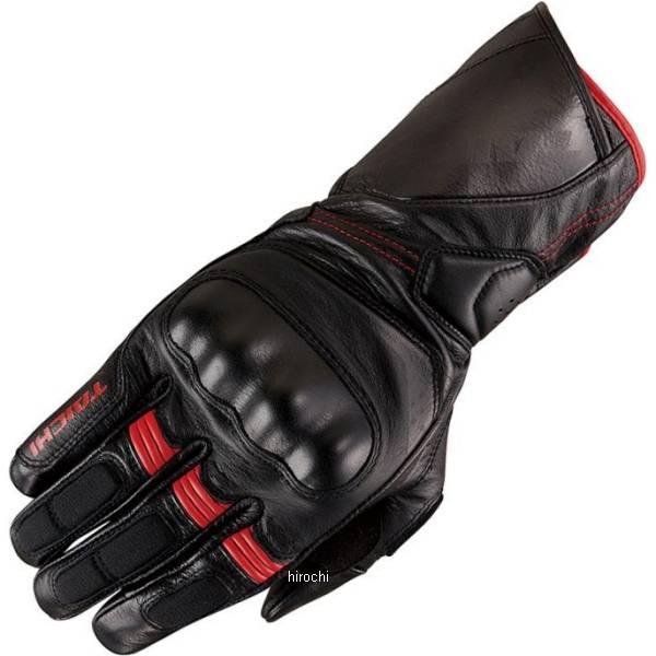 【メーカー在庫あり】 RST453 RSタイチ 2020年春夏モデル コルサ レザーグローブ 黒/赤 Sサイズ RST453BK03S HD店