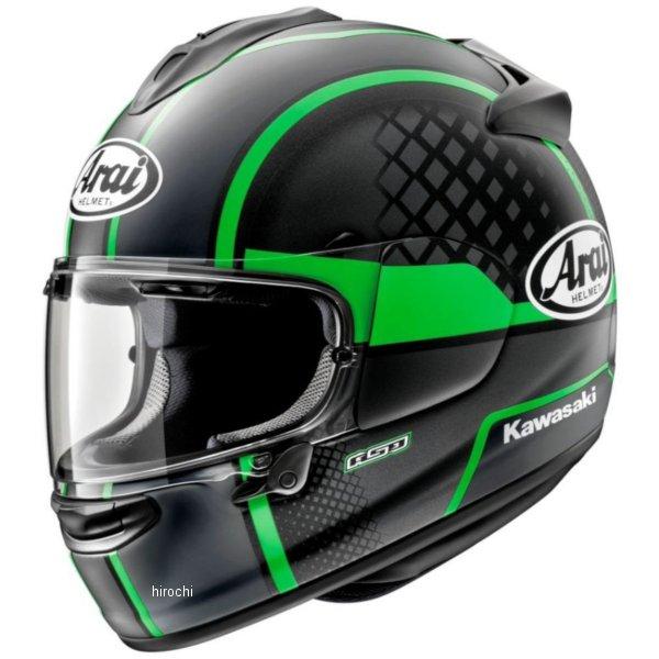 カワサキ純正 フルフェイスヘルメット VECTOR-X KAWASAKIテイクオフ XLサイズ(61cm-62cm) J8010-K043 HD店
