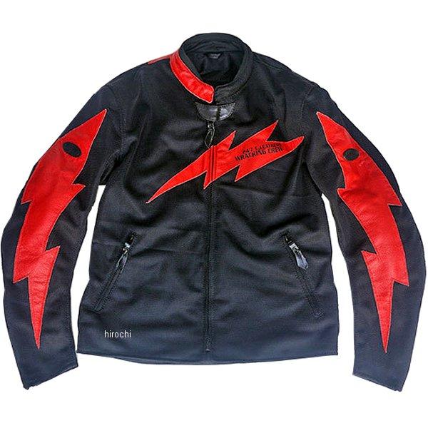 TFJ1901 トゥエンティ・フォー・セブン カスタムレザース 24/7 Custom Leathers メッシュジャケット 黒/赤 XLサイズ TFJ1901-BK-RD-XL HD店