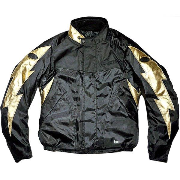 TFW1901 24/7 Custom Leathers ライトニングウィンタージャケット 黒/ゴールド Sサイズ TFW1901-BK-GD-S HD店