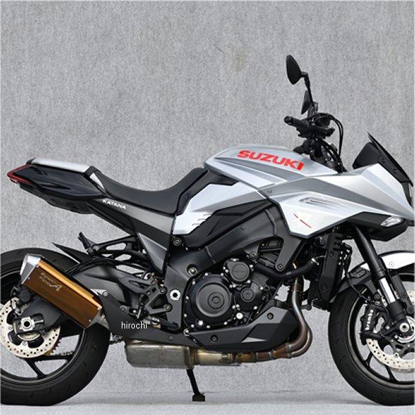 ヤマモトレーシング スリップオンマフラー SPEC-A TYPE-SA 19年以降 カタナ ゴールド JMCA認証 31007-01SAG HD店