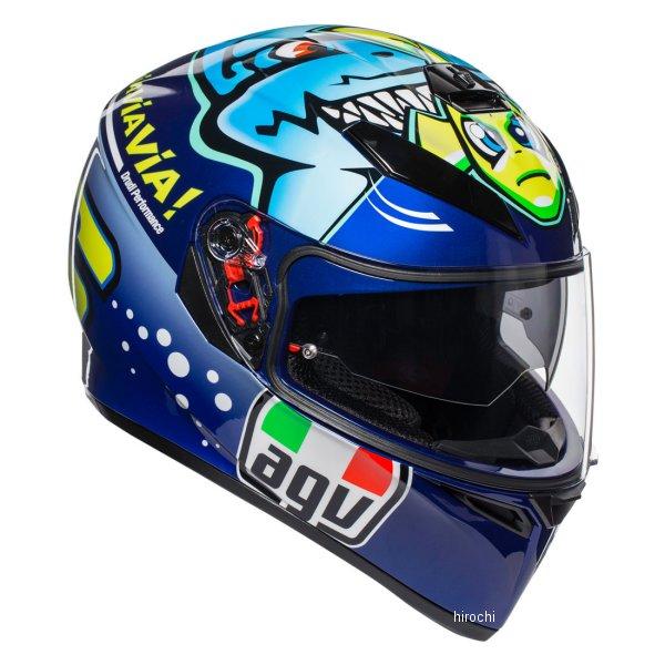 【メーカー在庫あり】 エージーブイ AGV フルフェイスヘルメット K-3SV MPLK ROSSI MISANO2015 Lサイズ 030190MF004-L HD店