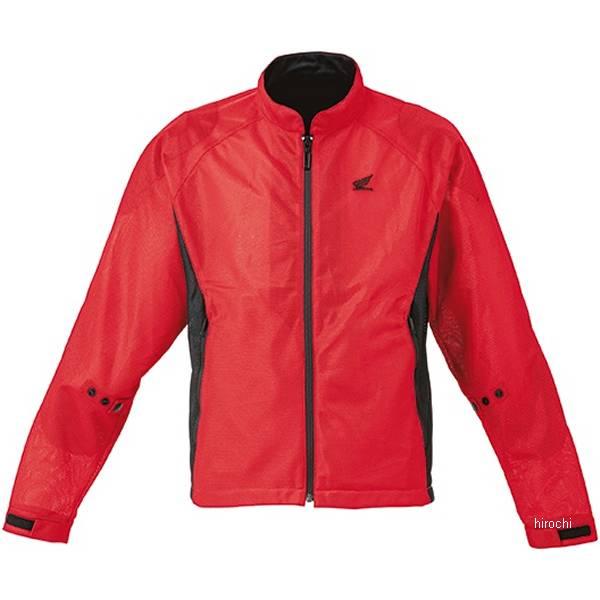 ホンダ純正 2020年春夏モデル エアスルーUVジャケット 赤 3Lサイズ 0SYTH-23R-R HD店