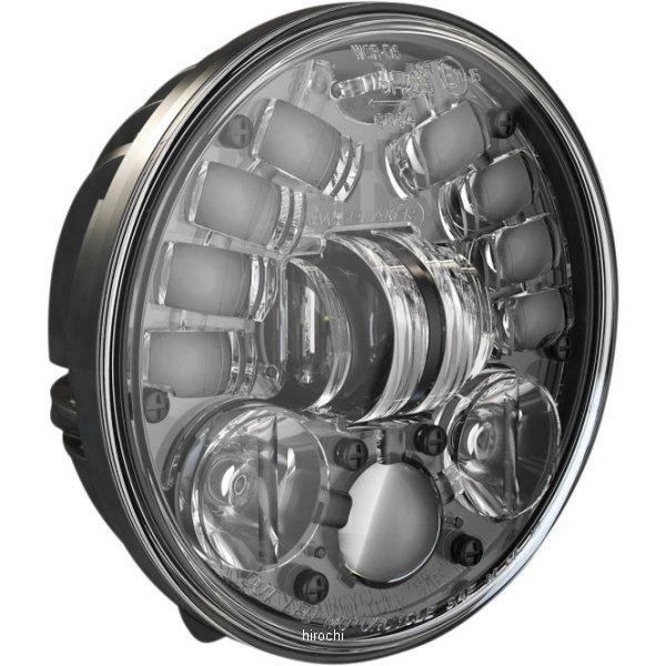 【USA在庫あり】 JWスピーカー J.W. Speaker LED ヘッドライト 5.25インチ アダプティブ2 台座マウント H4 黒 2001-1781 HD店