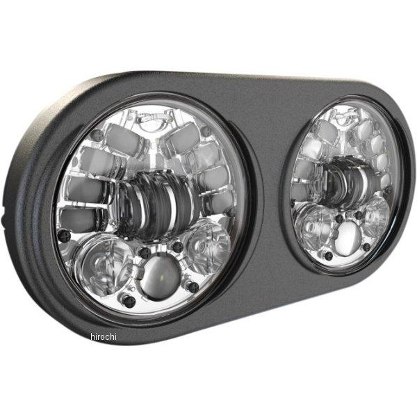【USA在庫あり】 JWスピーカー J.W. Speaker LED ヘッドライト 5.75インチ アダプティブ2 H4 FLTR クローム 2001-1784 HD店