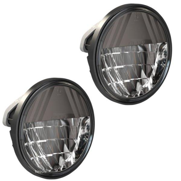 【USA在庫あり】 DRAG LED パッシングランプ 4.5インチ リフレクタースタイル 黒 (左右ペア) 2001-1793 HD店
