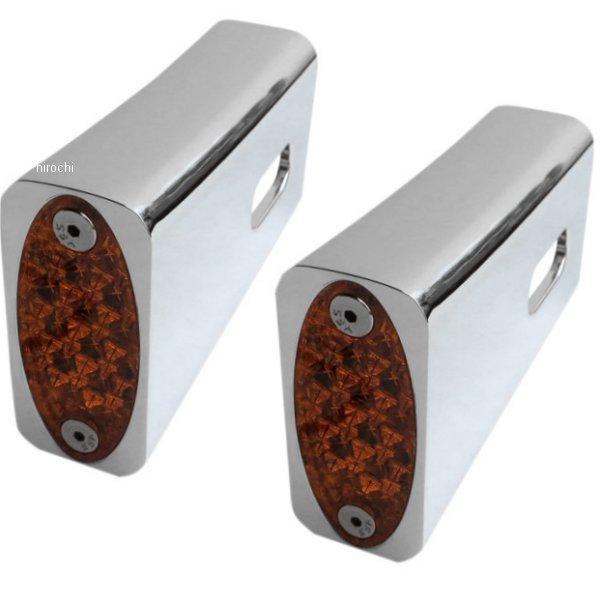 【USA在庫あり】 プロワン PRO-ONE LEDマーカーライト フェンダーストラット アンバー クローム 2040-2051 HD店