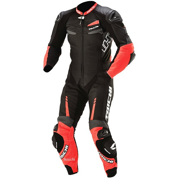NXL305 RSタイチ 秋冬モデル GP-WRX R305 レーシングスーツ ネオンレッド/黒 3XLサイズ NXL305RE013XL HD店