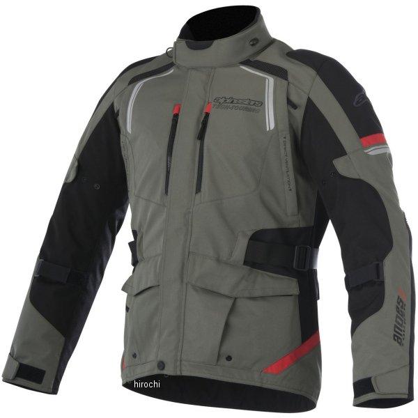 【メーカー在庫あり】 アルパインスターズ Alpinestars 春夏モデル ジャケット ANDES 2 DRYSTAR ミリタリーグリーン/黒/赤 Lサイズ 8021506615132 HD店
