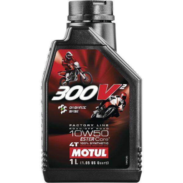 USA在庫あり モチュール MOTUL 商い 300V2 ファクトリーライン 4スト 108586 11102711 エンジンオイル HD店 1リットル 最安値 10W50