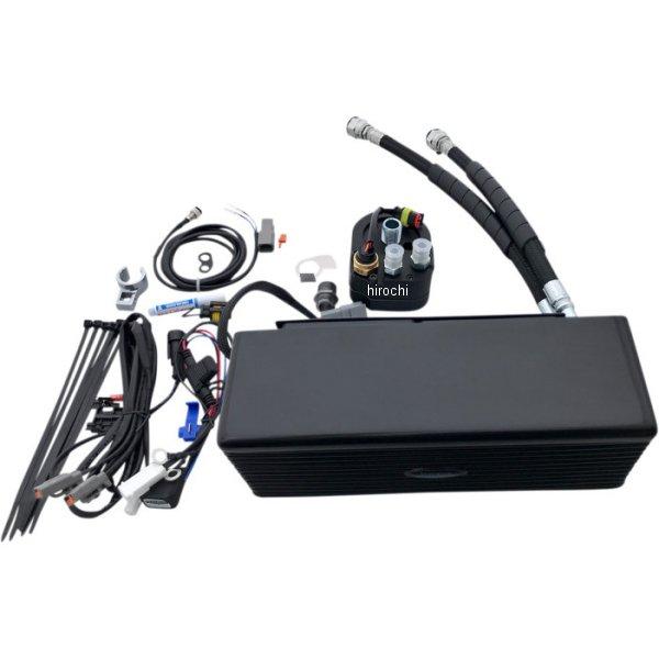 【USA在庫あり】 ウルトラクール UltraCool オイルクーラーキット 下側取付 FXD 黒 0713-0153 HD店