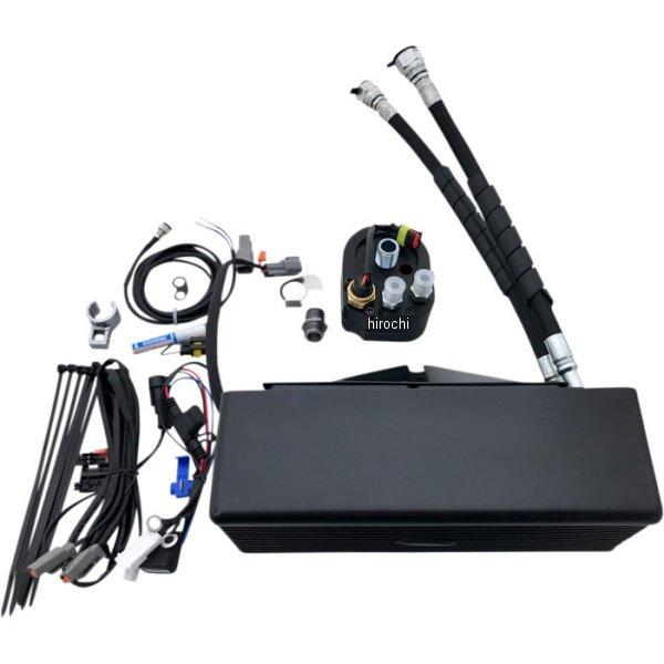 【USA在庫あり】 ウルトラクール UltraCool オイルクーラーキット 下側取付 FXD 黒(つや消し) 0713-0154 HD店