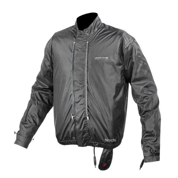 【メーカー在庫あり】 EK-111 コミネ KOMINE 2020年秋冬モデル 12V エレクトリック WP システム インナー ジャケット 黒 4XLサイズ 4573325771055 HD店