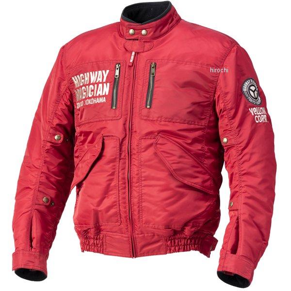 イエローコーン YeLLOW CORN 2020年秋冬モデル ウィンタージャケット 赤 Mサイズ YB-0300 HD店