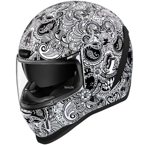アイコン 激安通販ショッピング ICON フルフェイスヘルメット AIRFORM CHANTILLY 0101-13415 HD店 即出荷 白 Mサイズ