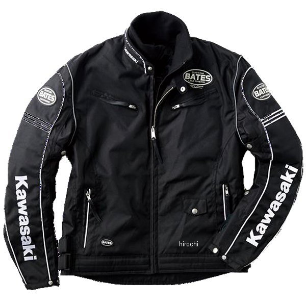 カワサキ純正 2020年秋冬モデル KB2W ライダースジャケット 黒/アイボリー LLサイズ J8001-2821 HD店