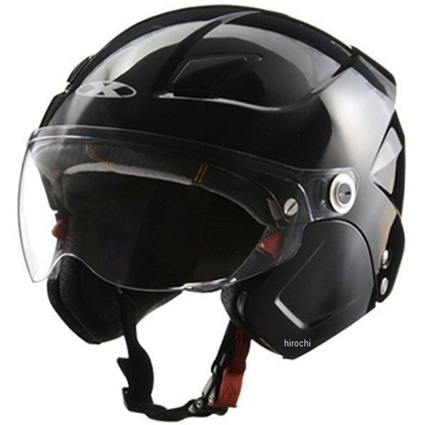 SOLDAD リード工業 システムヘルメット X-AIR ソルダード 黒 フリーサイズ (57cm-60cm) SOLDAD-BK HD店