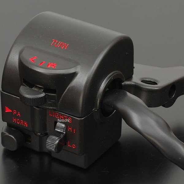 メーカー在庫あり ピーエムシー PMC STDタイプハンドルスイッチ CB400F 激安通販専門店 左側 HD店 178-4076 高価値
