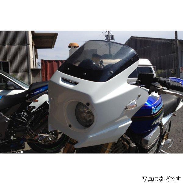 ノジマエンジニアリング アッパーカウル シロゲル クリアレンズ 美品 豪華な ZRX1200 NJ-FCWC HD店 1100