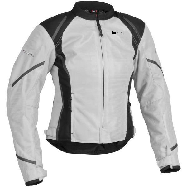 【USA在庫あり】 ファーストギア FirstGear メッシュテキスタイルジャケット 女性用 シルバー/黒 W2XLサイズ 515804 HD店